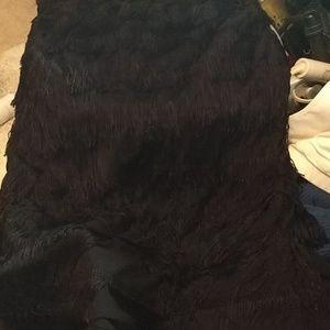 Express Black swinger knee elesatic band skirt 2